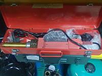 Аппарат сварочный ПП плоский  APC WM12 с насадками 20 - 40 ножницами уровнем в чемодане