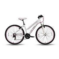 "Велосипед 26'' PRIDE STELLA рама - 18"" бело-розовый матовый 2016, фото 1"