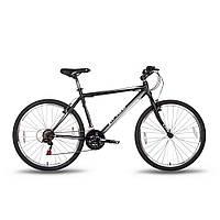 """Велосипед 26'' PRIDE XC-1.0 рама - 15"""" черно-белый матовый 2016, фото 1"""