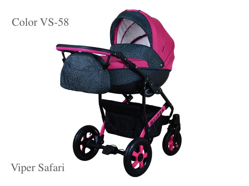 Коляска Вайпер сафари  (Viper safari) 2 в 1. VS 58