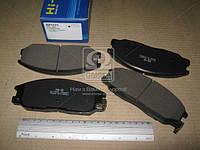 Колодка тормозная HYUNDAI REXTON 2.7, 3.2 04- передний (производитель SANGSIN) SP1171