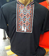 Мужская футболка вышитая  304САК