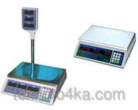 Весы торговые электронные со стойкой NOKASONIC на 50кг