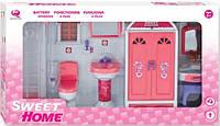 Кукольная ванная комната Сладкий домик, QunFengToys
