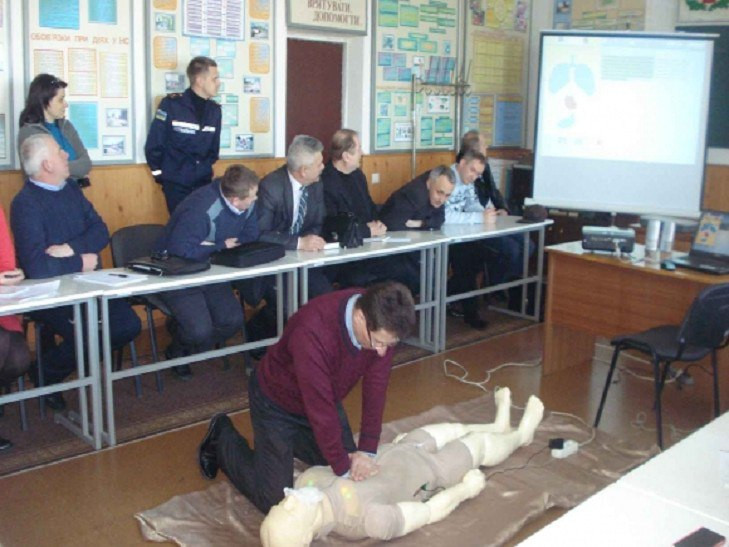 В Хмельницком робот-тренажер «Тарас» будет учить оказывать первую помощь пострадавшим
