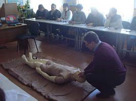 В Хмельницком робот-тренажер «Тарас» будет учить оказывать первую помощь пострадавшим 2