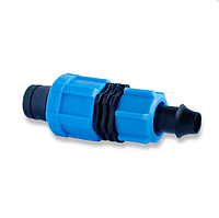 Фитинг стартер с поджимом для капельного полива Presto-PS LO 0117 (100 шт в уп.)