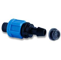 Фитинг стартер с резинкой для капельного полива Presto-PS РO 0117 (100 шт в уп.)
