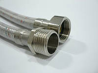 Шланг гибкий для подключения воды ВН  40 см LUXE