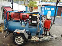 Аренда электрического компрессора ВВПЭ 3,5 с отбойными молотками 2шт.+шланги 2*50м. в аренду Киев и область