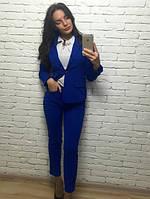 """Женский брючный костюм с подкладкой (пиджак и брюки) """"Люси"""", фото 1"""