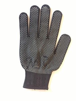 Перчатки женский стрейч серый