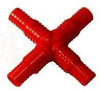 Крестовина для шлангов универсальная 20 - 25 мм пластик