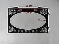 Стекло электродуховки 38 х 23,4 см Асель 33 литра (нового образца)