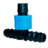 Фитинг тройник 16х17х16 для капельного полива Presto-PS ВТ 021716 (50 шт в уп.)