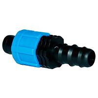 Фитинг переходник для капельного полива Presto-PS ВС 011617 (100 шт в уп.)