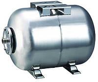 Гидроаккумулятор водоснабжения   50 л   горизонтальный нержавейка