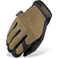 Тактические перчатки Mechanix (реплика), цвет тан