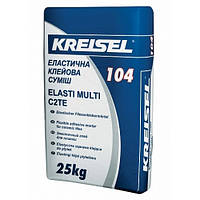 КREISEL 104 эластичный универсальный клей для плитки, 25 кг