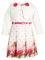 Красивое нарядное платье с болеро