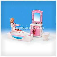 Мебель для кукол «Ванная комната»