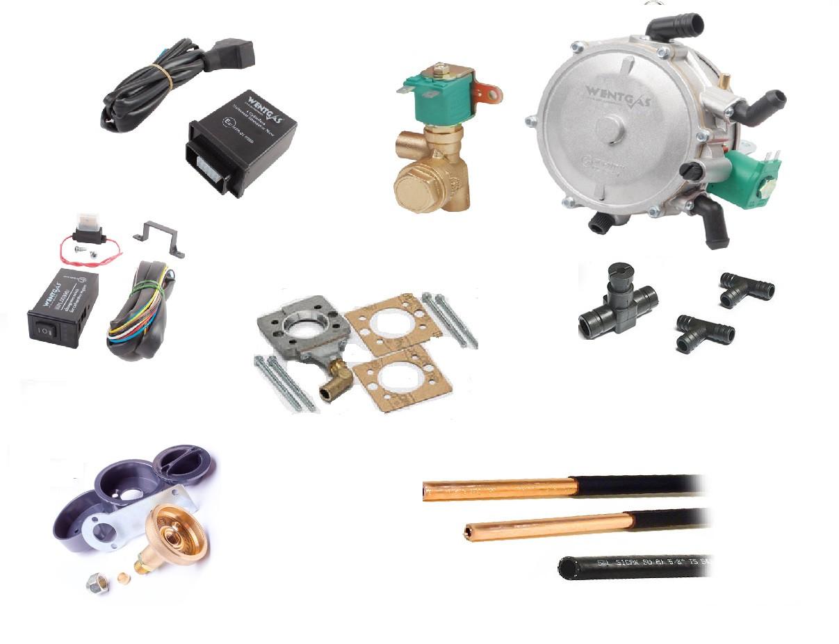 Комплект ГБО на моноинжектор Bosh.Трубка пластиковая