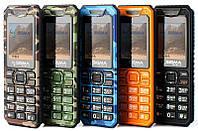 Новый защищенный мобильный телефон Sigma X-style 11 Dragon green camouflage