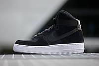 Nike Air Force 1 High 07 Suede 'Black'