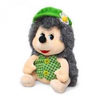 Мягкая игрушка Lava Ежик Яша в кепке с ромашкой