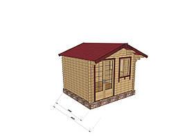 Строительство домов из профилированного бруса 3х3