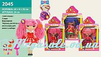 Кукла Lalaloopsy/Лалалупси c аксессуарами для причесок: 3 вида, корона+ расческа + аксессуары