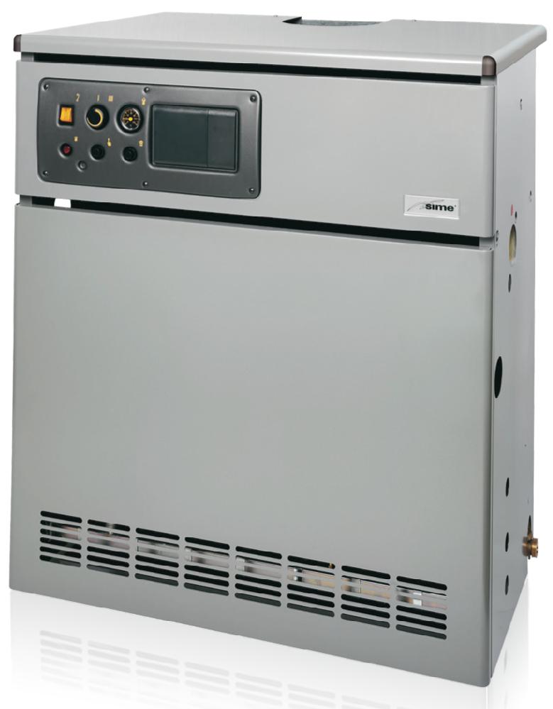 Газовый котел SIME RMG 110 Mk.II (напольный чугунный)
