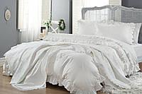 Комплект постільної білизни з покривалом Gellin Home (Yasemin)
