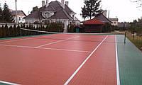Модульное покрытие GEODOR для теннисного корта
