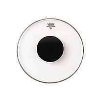 """Remo Controlled Sound CS132210 прозрачный пластик 22"""" с чёрным центром"""