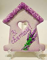 Корпоративная выпечка к 8 марта - расписной медовый имбирный пряник