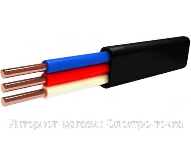 Кабель ВВГ п нгд 3х1.5, производитель Мега-Кабель (ГОСТ)