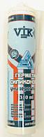 Герметик силиконовый VIKING / KRAFT 310 мл антибактериальный прозрачный