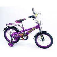 Детский двухколесный велосипед 16 дюймов Super bike 151603