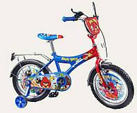 Детский двухколесный велосипед 16 дюймов Angry Birds 141618