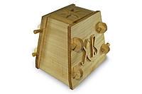 Форма для сырной паски деревянная (Hand-made)