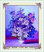 """Набор для вышивания лента """"Пурпурная рифма"""""""