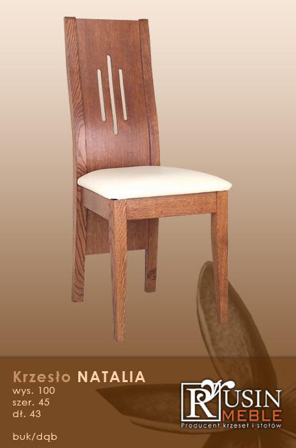 Деревянное кресло Natalia (Rusin Meble)