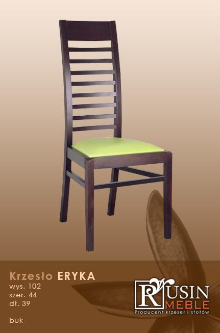 Деревянное кресло Eryka (Rusin Meble)