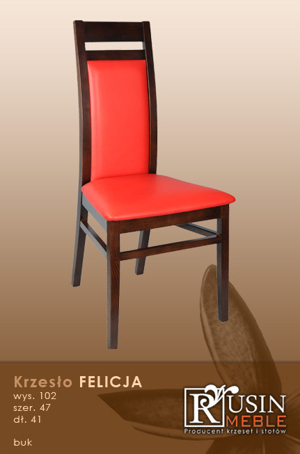 Деревянное кресло Felicja (Rusin Meble)