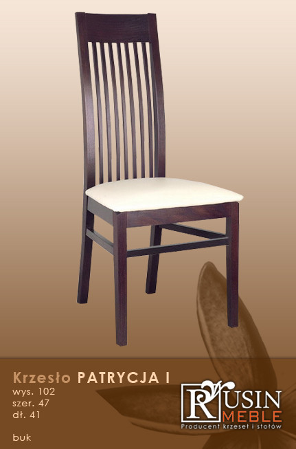 Деревянное кресло Patrycja I (Rusin Meble)
