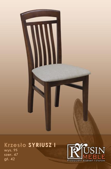 Деревянное кресло Syriusz I (Rusin Meble)