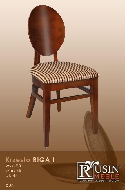 Деревянное кресло Riga I (Rusin Meble)