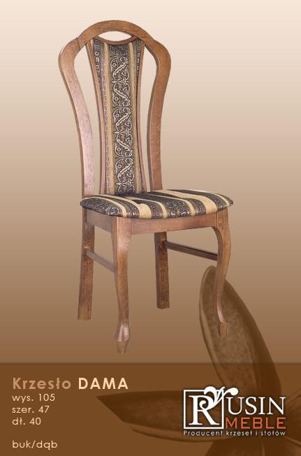 Деревянное кресло Dama (Rusin Meble)