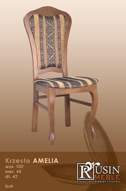 Деревянное кресло Amelia (Rusin Meble)